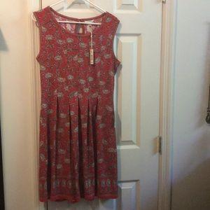 Brand new red print Max Studio dress! NWT.